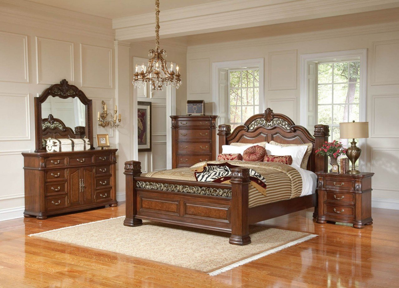 Mahogany Bedroom Set Thebestwoodfurniture Com
