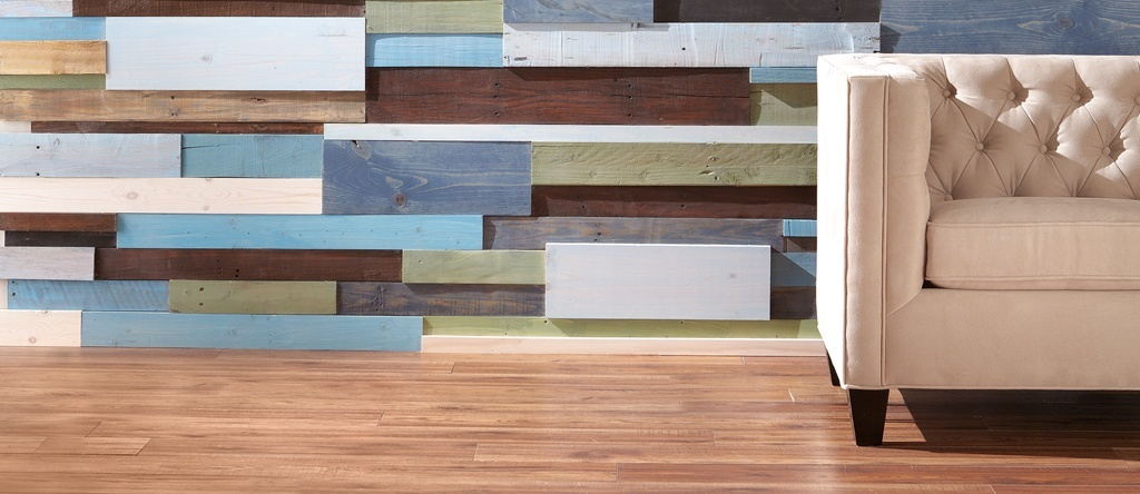 Horizontal Plank Wall