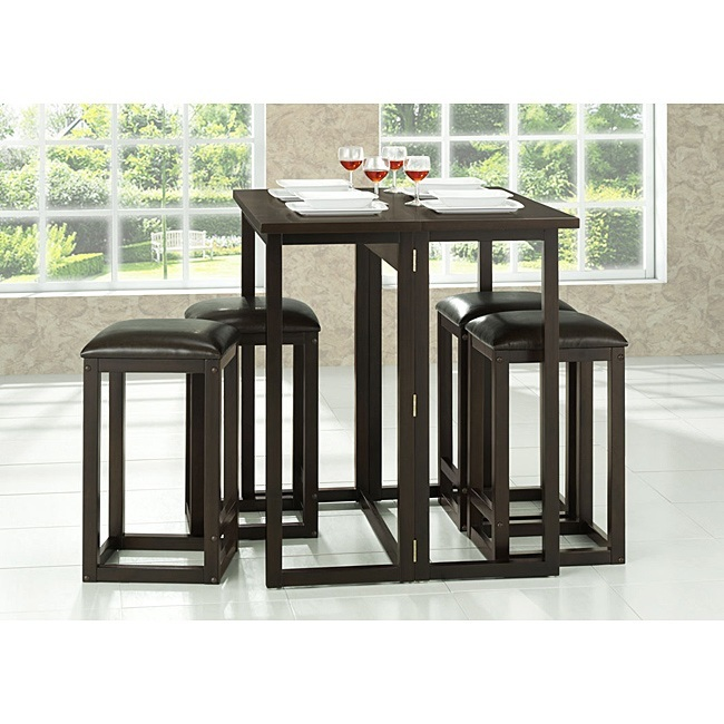 Black Wood Dining Set