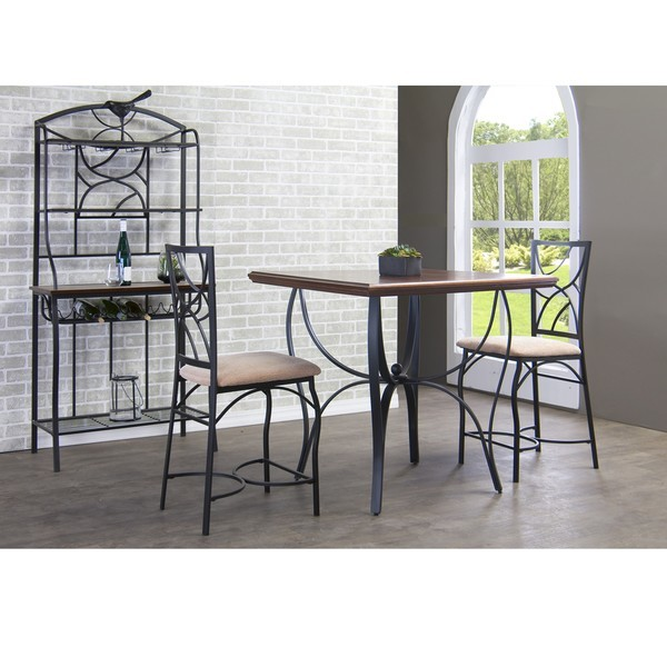 Wood Table Metal Frame