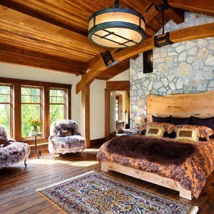 Choosing wooden themed bedroom design make your dream fairy tale.