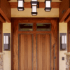 You need only to maintain the harmony of the modern main door design appearance of the house.