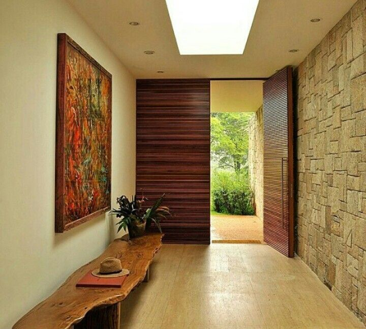 Contemporary Wood Entry Doors