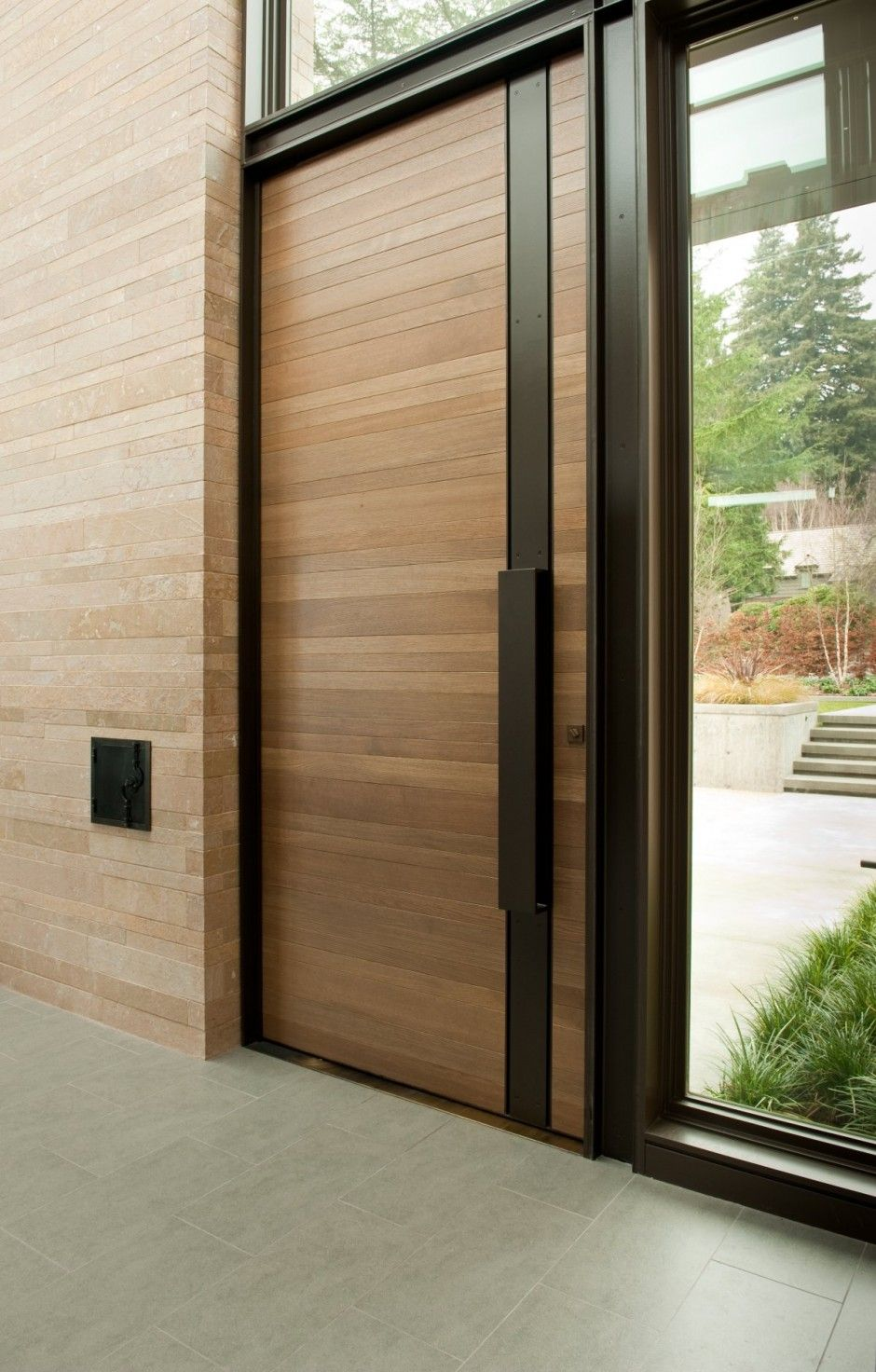 Modern Wooden Door Design