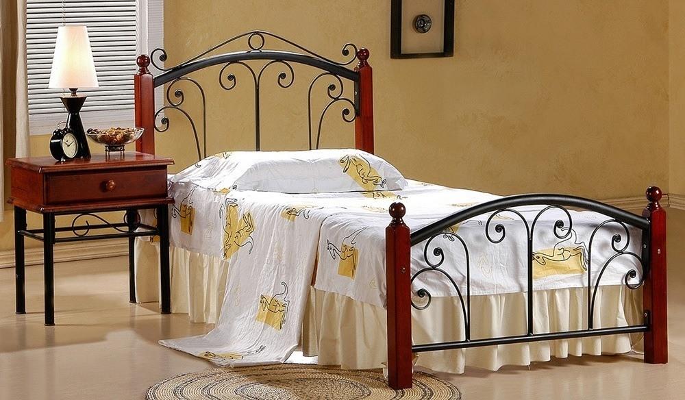 Metal Wooden Bed