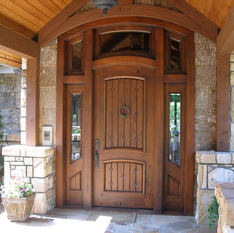 Wooden Entrance Door Design