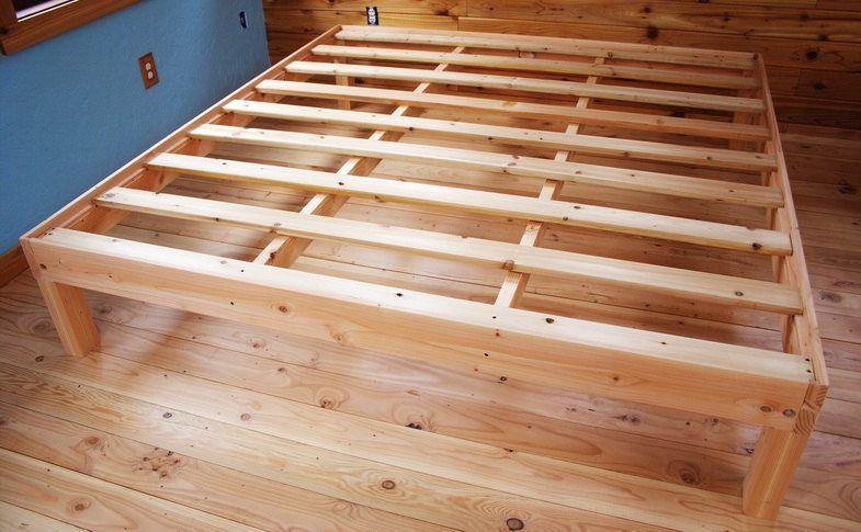 Hardwood Bed Frame Queen