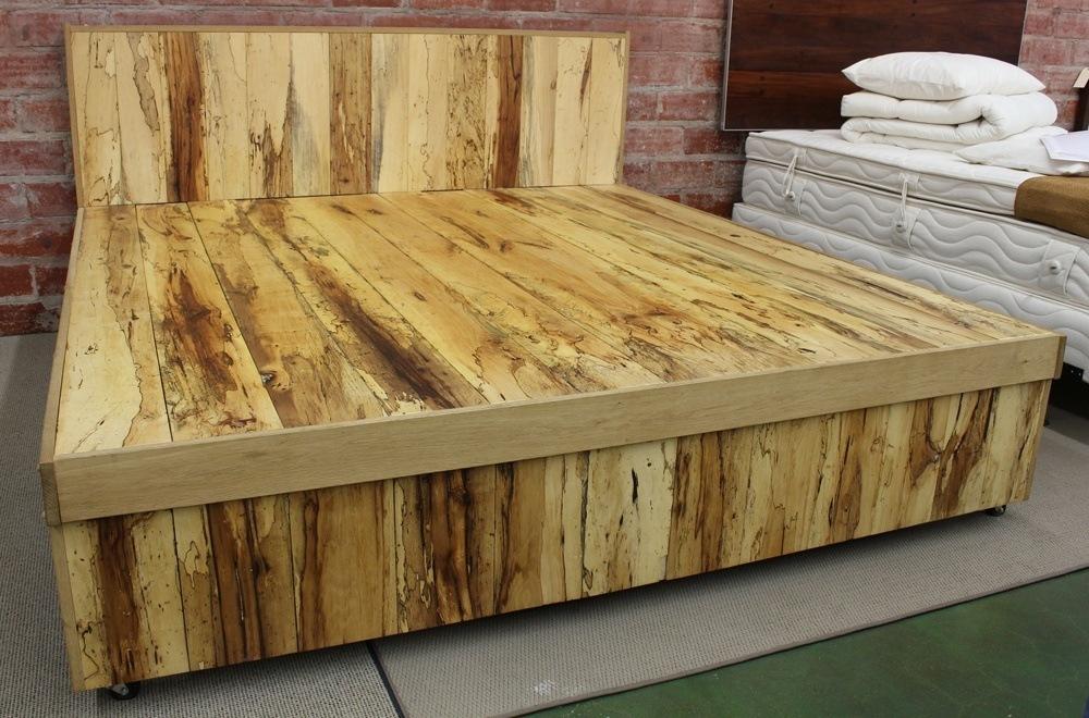 Solid Hardwood Bed Frame