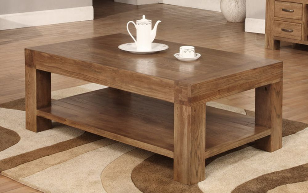 Walnut can be perfect for little wooden table in the any living room design.