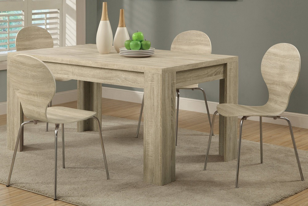 Rectangle wood table
