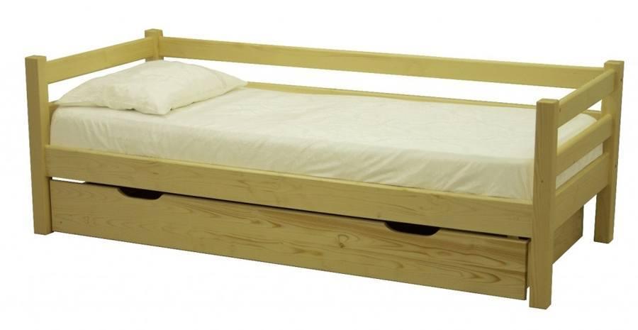 Basic Wood Platform Bed