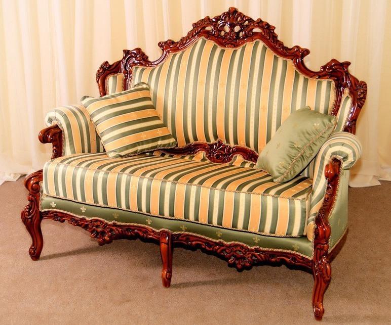 Vintage Wooden Sofa
