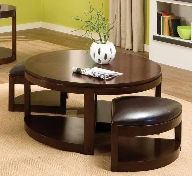 Oak Circle Table