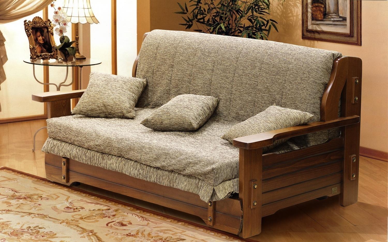 Contemporary Wooden Sofa