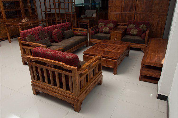 Hardwood sofa
