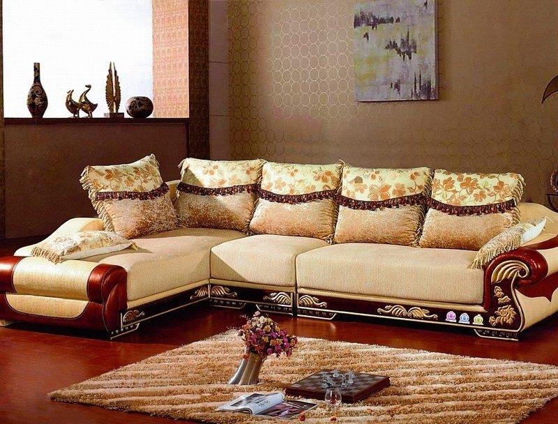 Wooden modern sofas