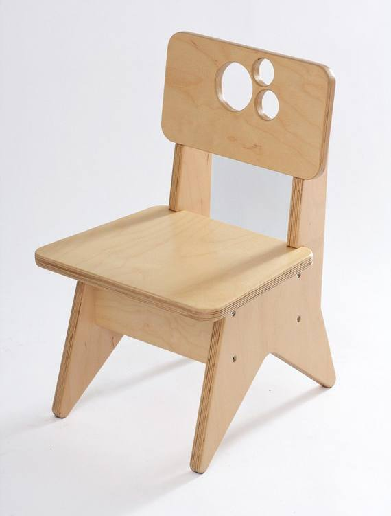 Single Wooden Sofa Chair