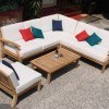 Wooden Sectional Sofa