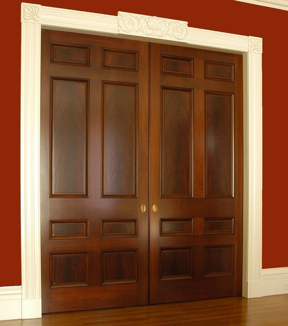 Custom Interior Wood Door