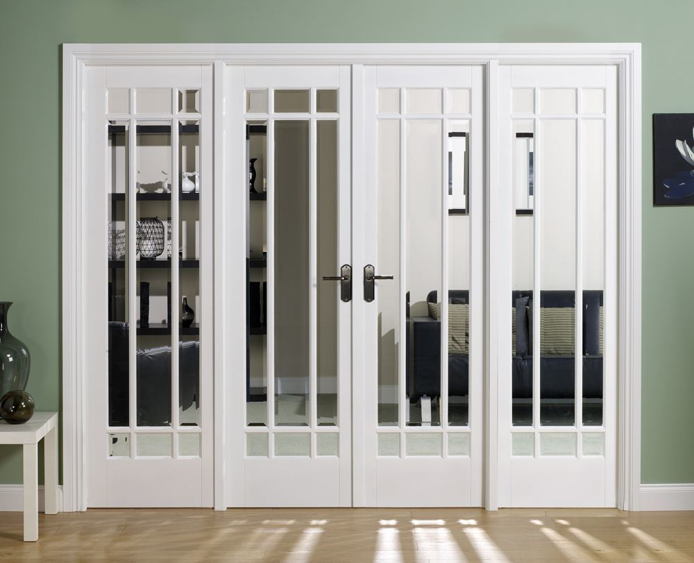 Solid Wood White Interior Doors
