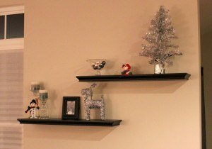 Wood wall shelves Version 1