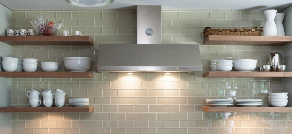Beautiful rustic kitchen wall shelves can transform kitchen interior in modern design trends.