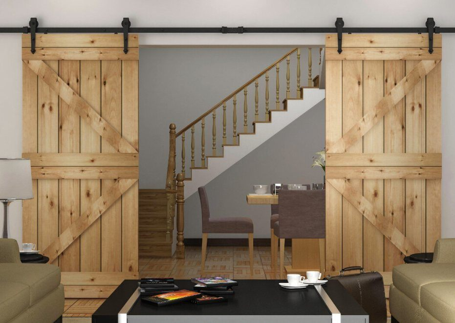 Sliding Wood Panel Doors