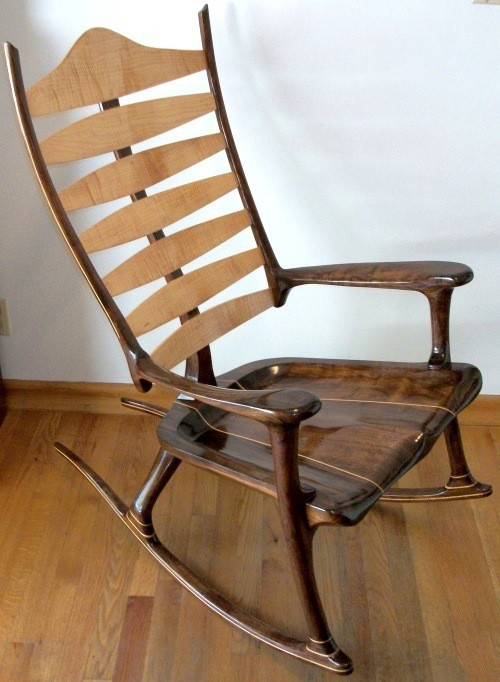 Vintage Maple Dining Chairs