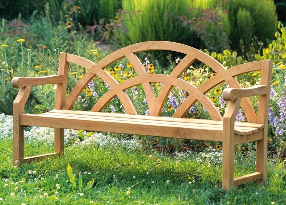 Outdoor Wooden Garden Bench