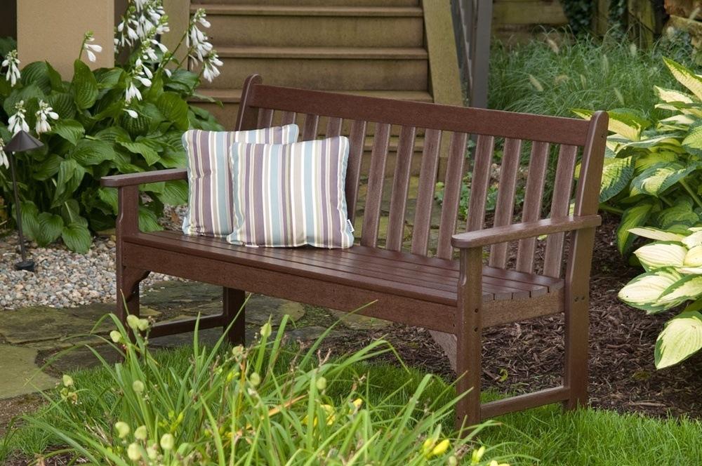Narrow Garden Bench