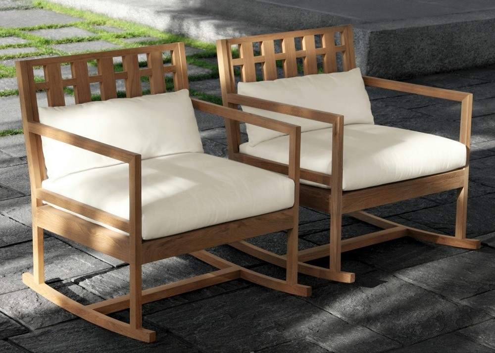 Oak Outdoor Chairs