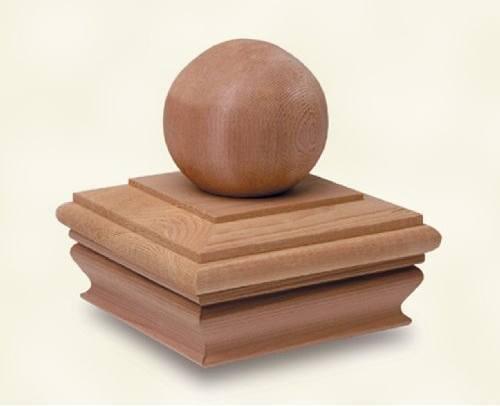 3 Inch Round Wooden Posts