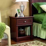 Which Small Wood Nightstands are Most Used Today for Interior Furnishing?