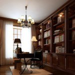 Used Solid Wood Bookcases: 3 Popular Design Kinds for Living Room