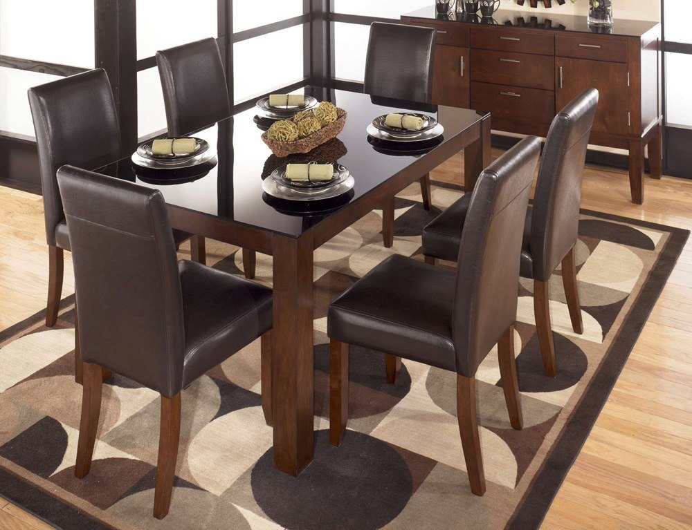 Ashley Furniture Glass Dining Table Sets