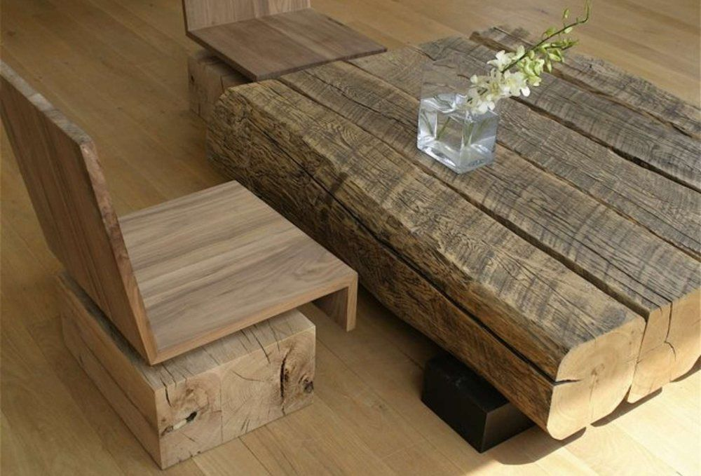 Coffee Table Wood Modern
