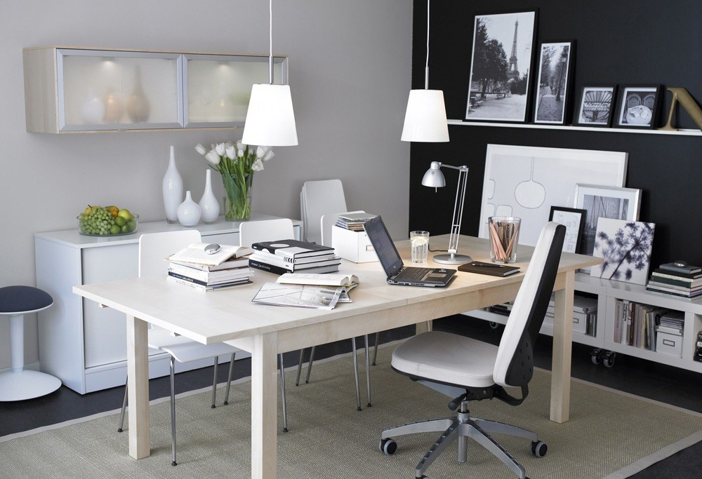 Furniture retails are very popular, especially office furniture IKEA USA.