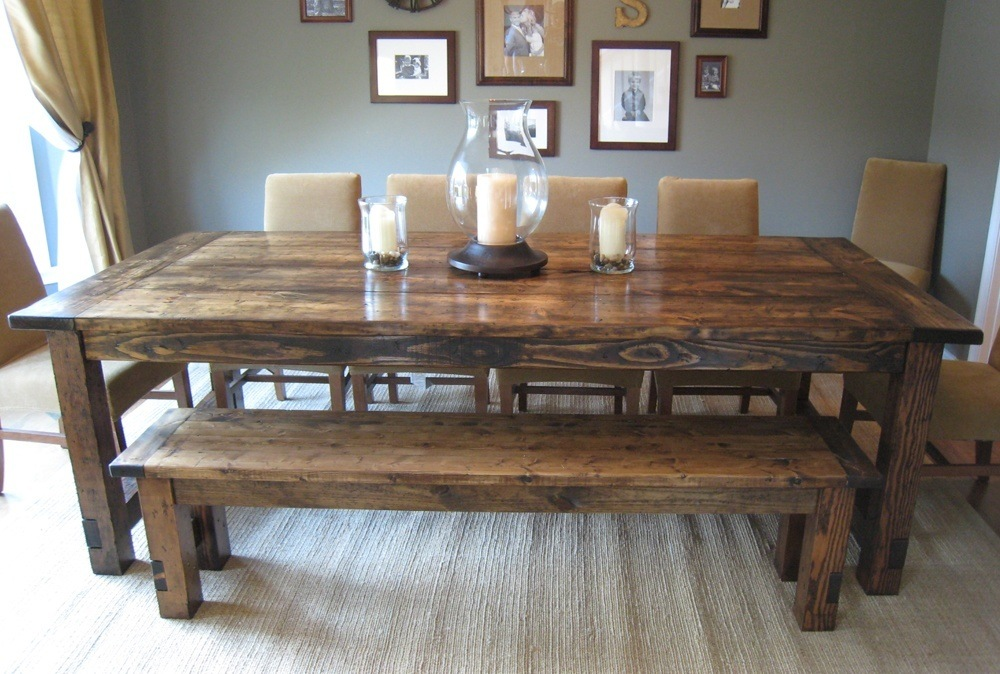 Restoration Wood Furniture Table