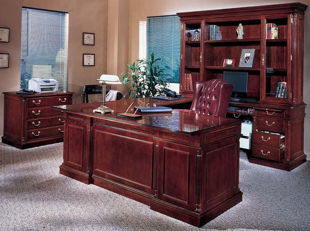 Solid Wood Office Furniture Sets