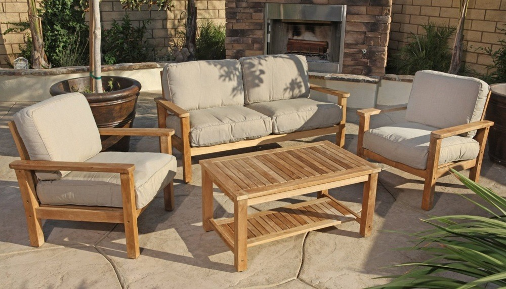 Teak Outdoor Sofa Set
