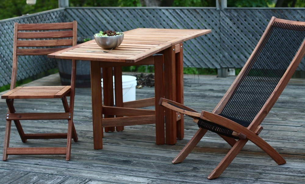 Teak Wood Patio Chairs