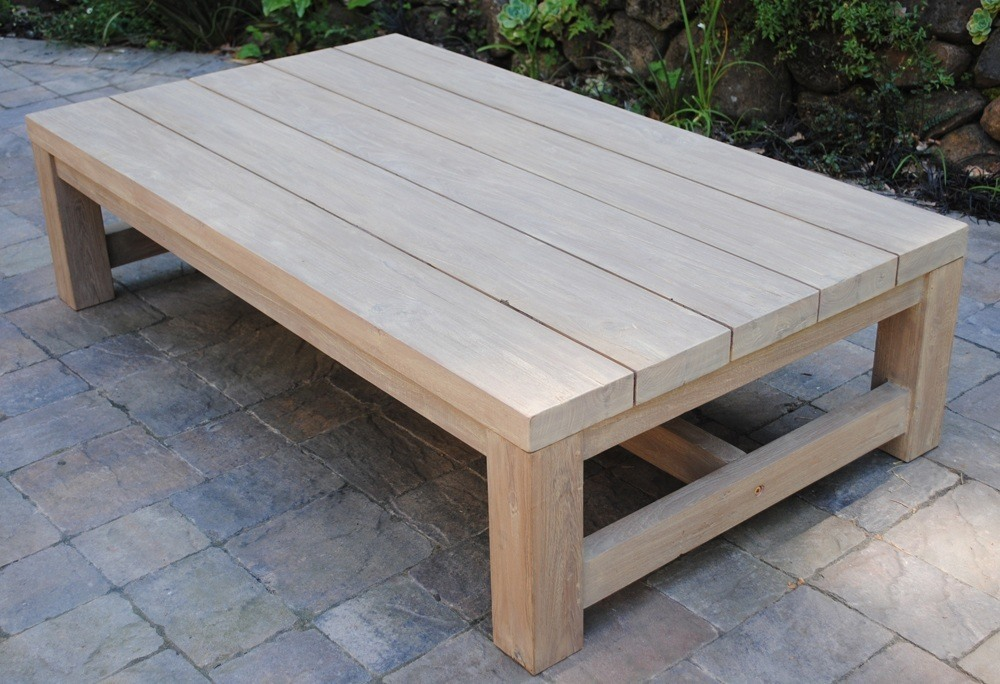 Teak Patio Coffee Table