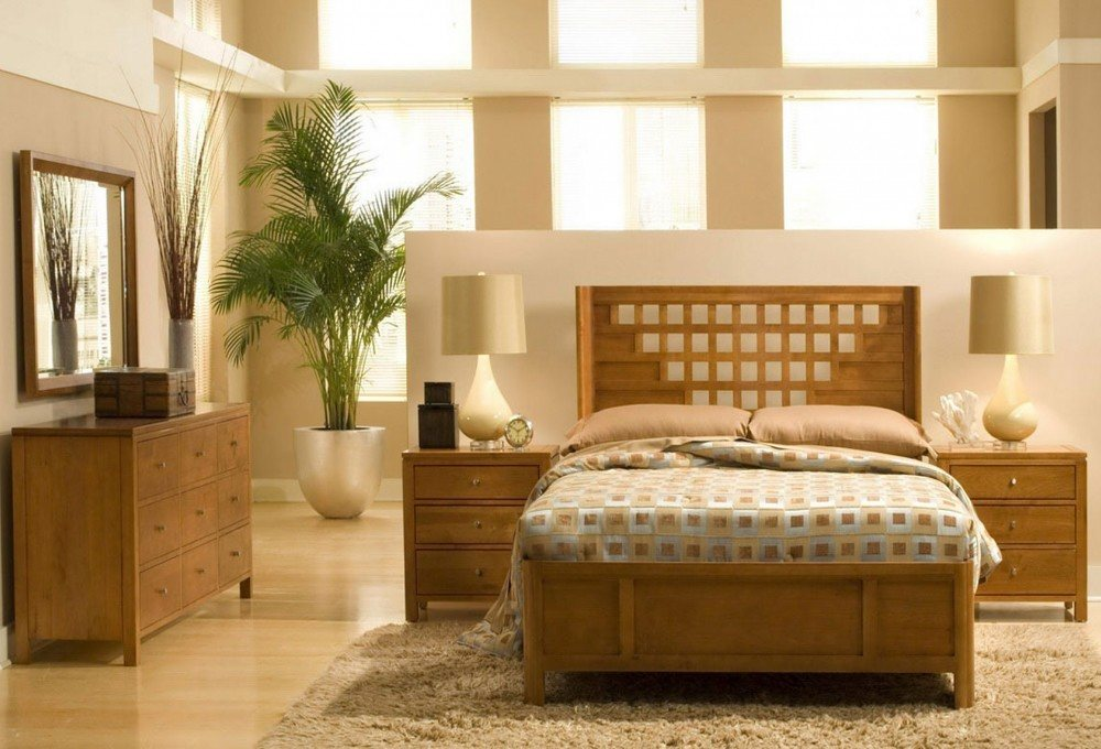 Beautiful Wood Bed