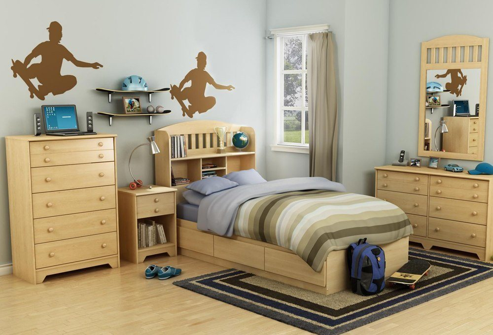 A good solid wood kids bedroom furniture will serve you for many years.