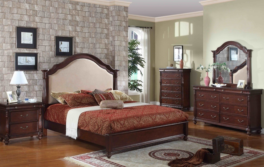 Classic Wood Bed