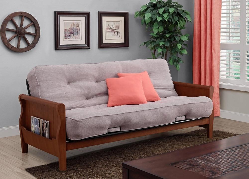 Living Room Wood Sofa