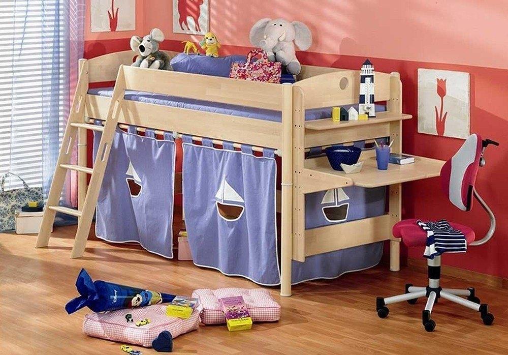 Children Wood Bed