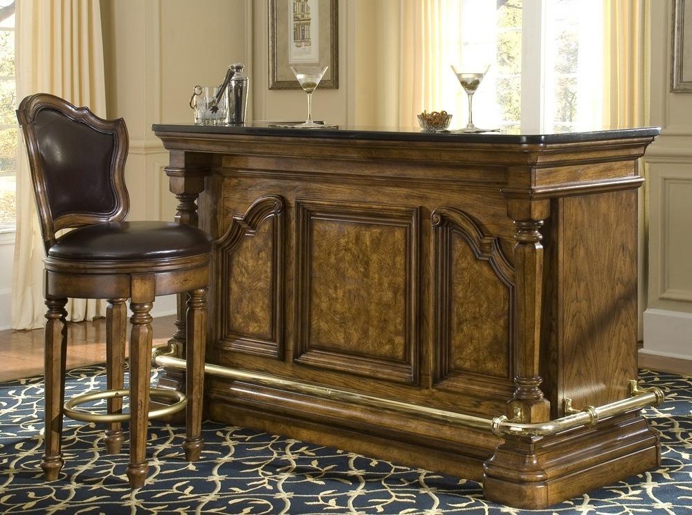 Vintage Wooden Bar