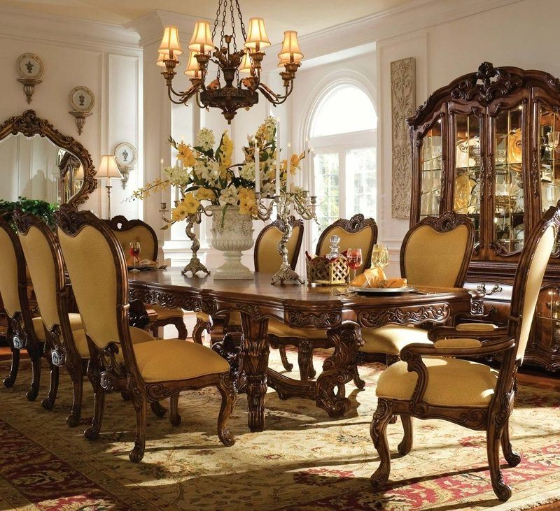 Luxury Wood Dining Room Furniture