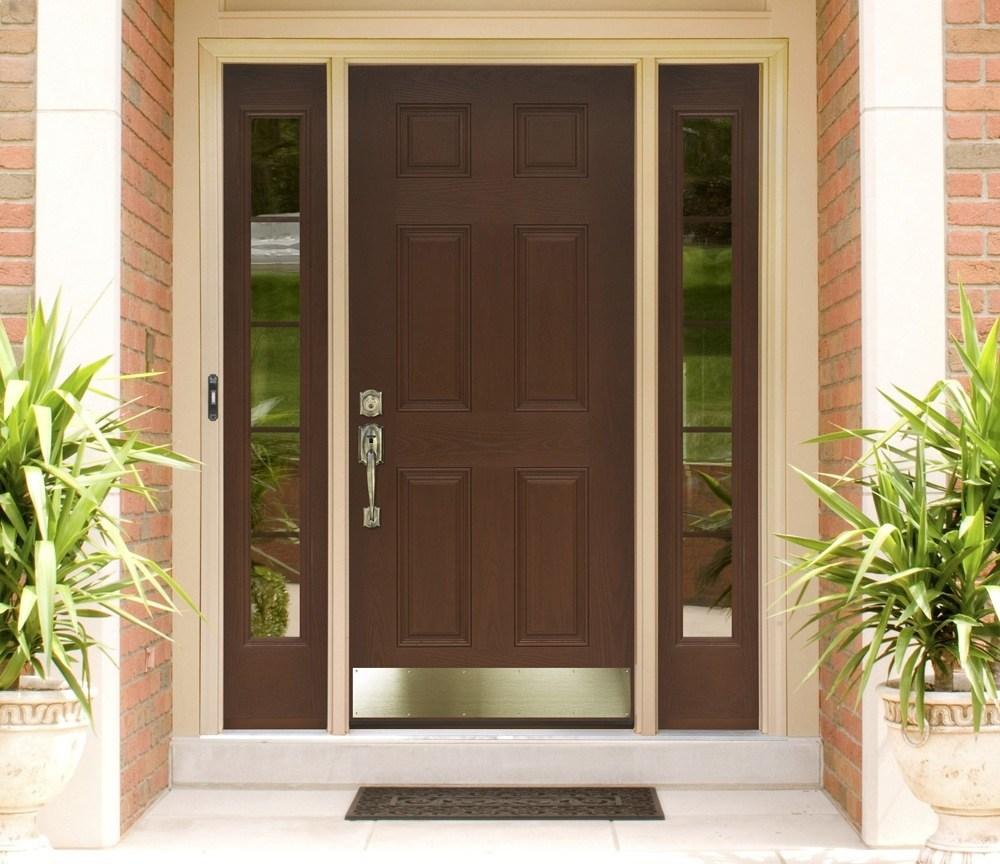 Mahogany Front Entry Door